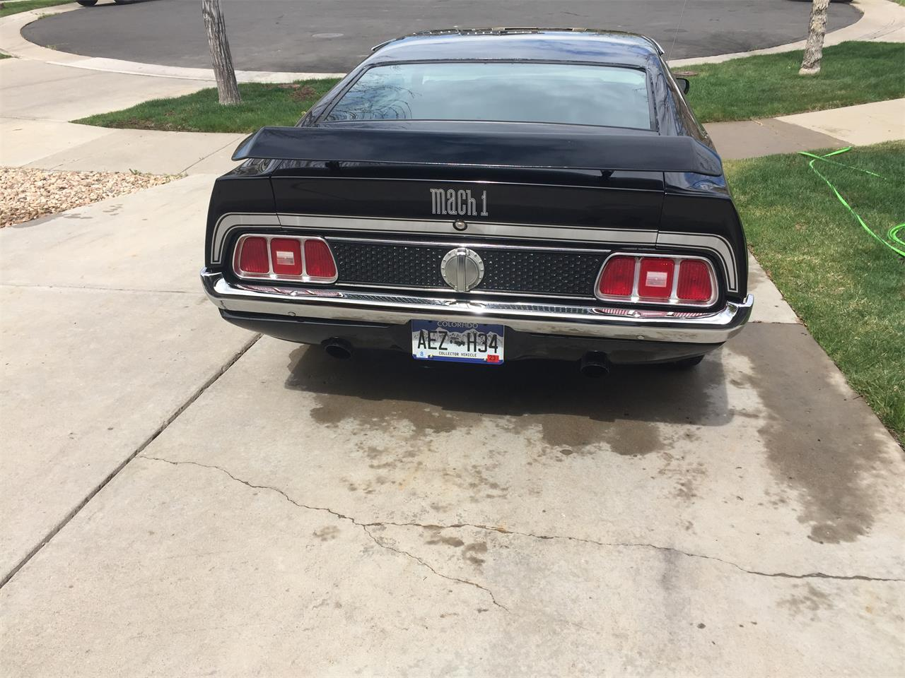 Large Picture of '71 Mustang Mach 1 - QMVF