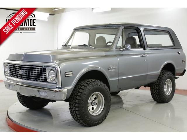 1970 to 1972 Chevrolet Blazer for Sale on ClassicCars com on