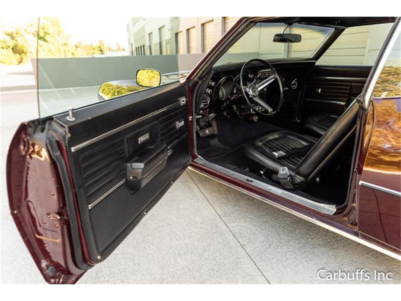 Large Picture of 1968 Chevrolet Camaro located in Concord California - $29,950.00 Offered by Carbuffs - QL0H
