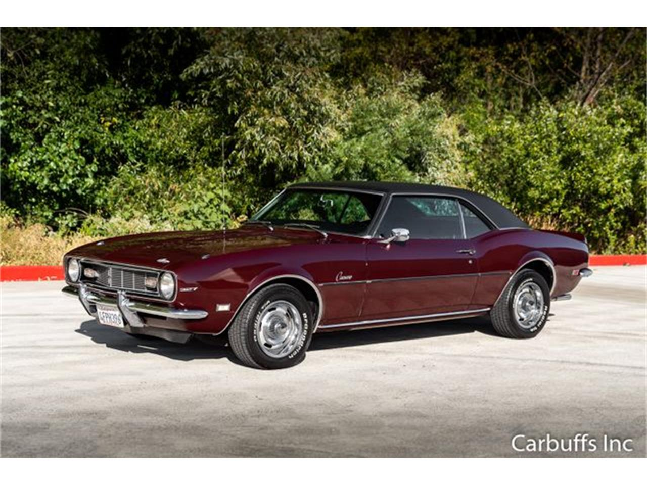 Large Picture of 1968 Chevrolet Camaro located in Concord California Offered by Carbuffs - QL0H
