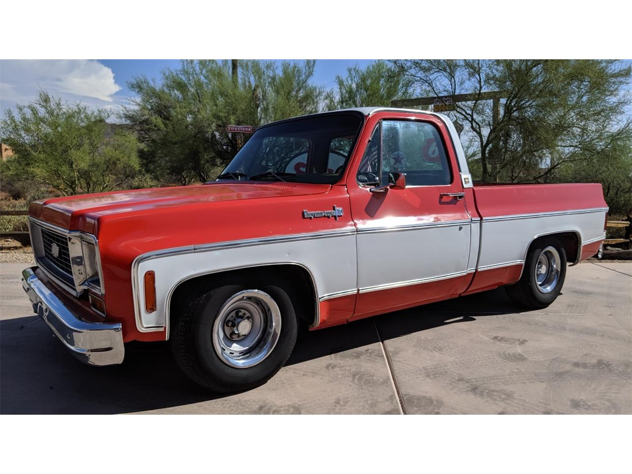 Large Picture of '74 Chevrolet C10 located in North Pheonix Arizona Offered by a Private Seller - QN2L