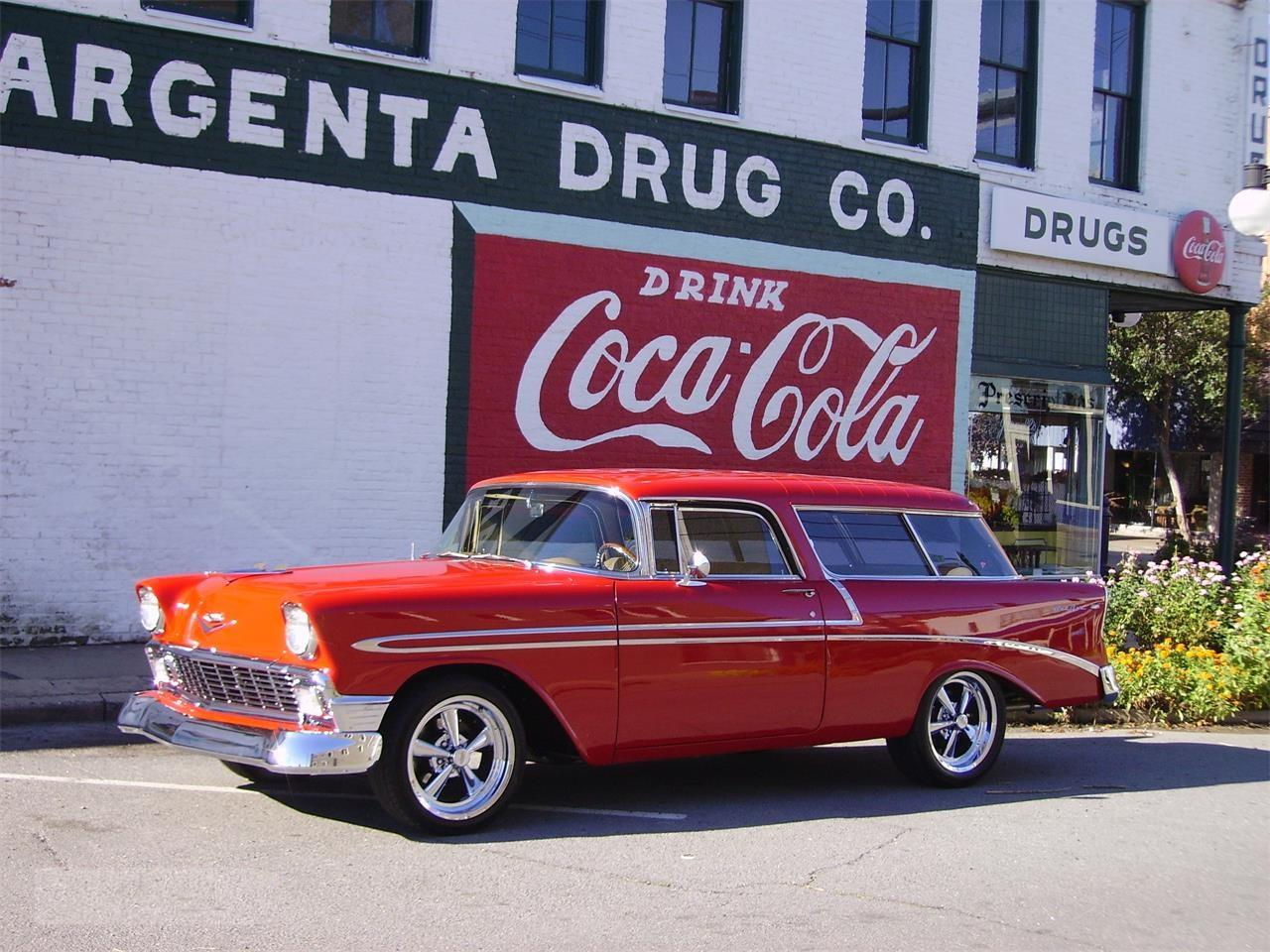 For Sale 1956 Chevrolet Nomad In San Leon Texas