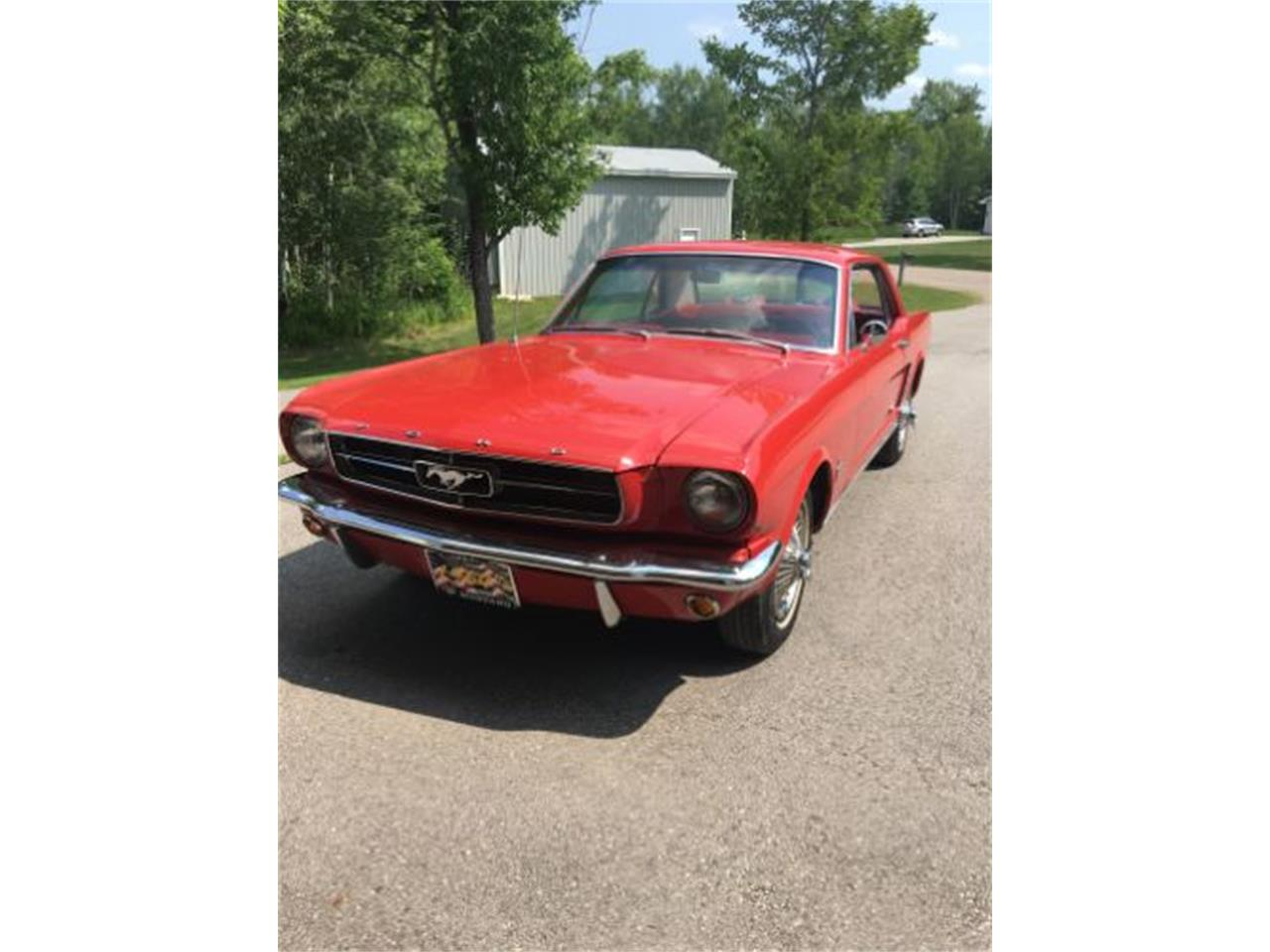 Large Picture of '64 Mustang - QNIX