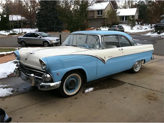 Picture of '55 Ford Fairlane Victoria located in Boulder Colorado - $19,995.00 Offered by a Private Seller - QNZ0