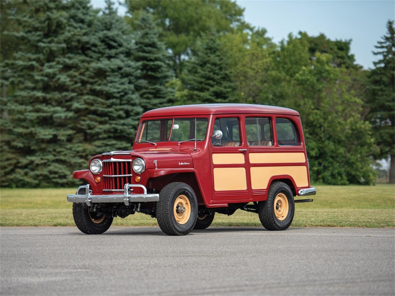 Large Picture of '55 Wagon - QO20