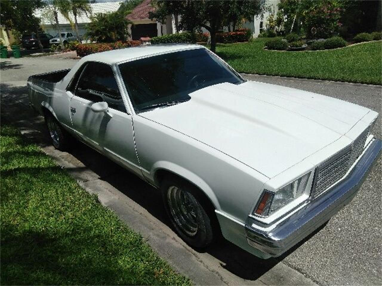 Large Picture of '79 El Camino - QL4U