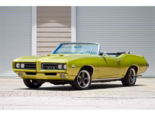 Picture of '69 Pontiac GTO located in EUSTIS Florida Offered by  - QOAG