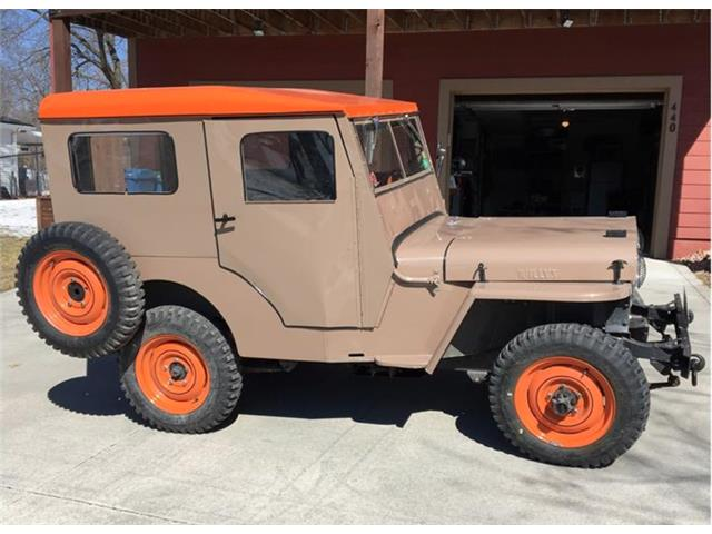 Picture of Classic 1948 Willys CJ2A - $12,500.00 - QOBD