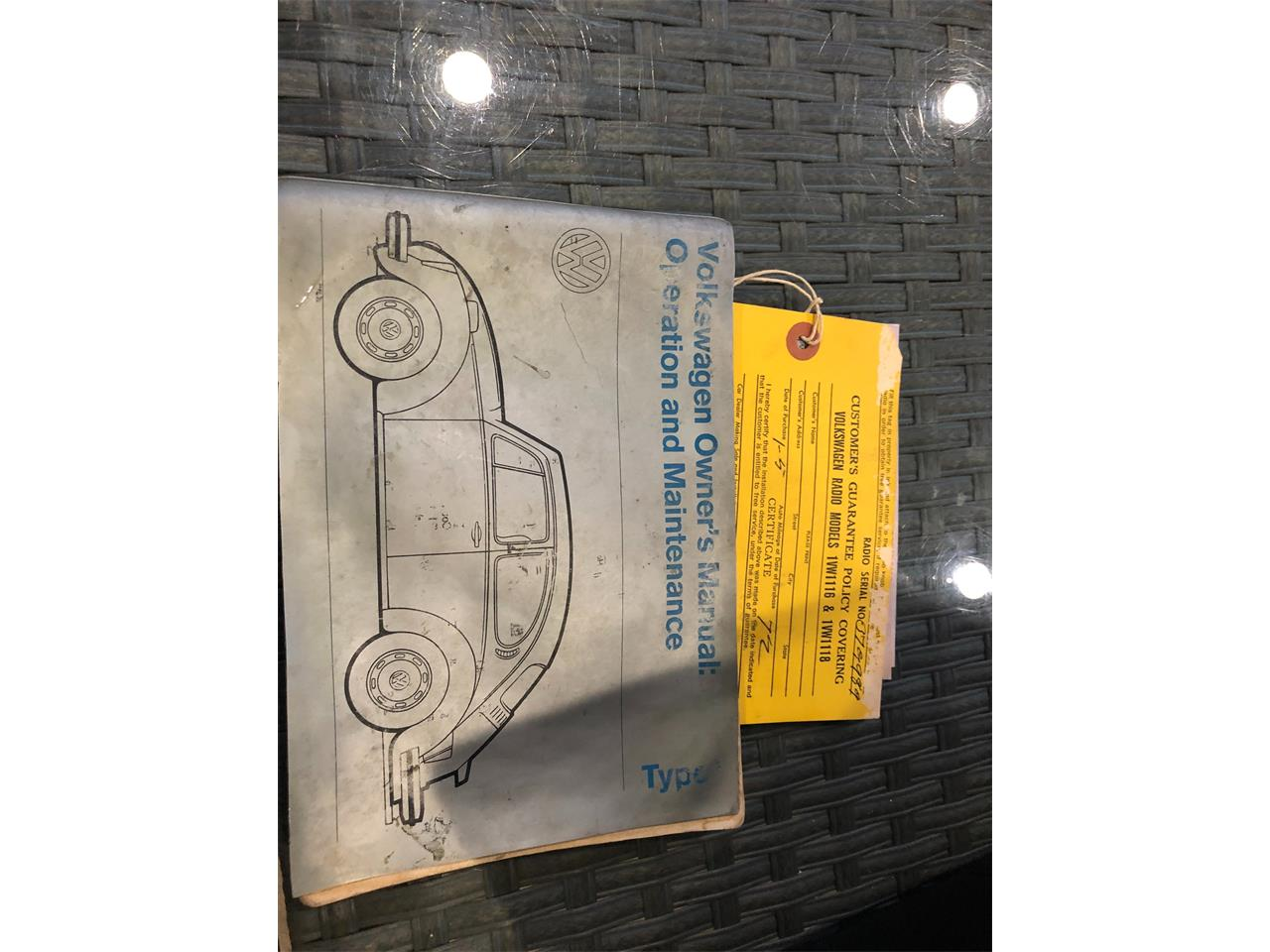 Large Picture of 1972 Volkswagen Beetle located in Austin Texas - QOBX