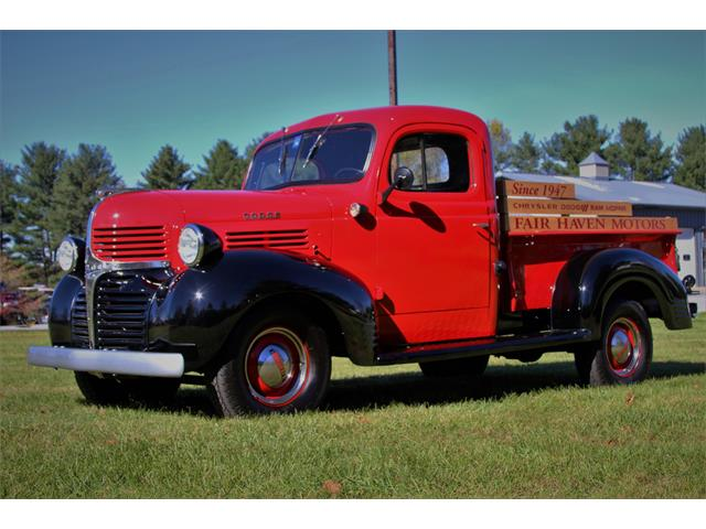 Classic Dodge Pickup for Sale on ClassicCars com on ClassicCars com