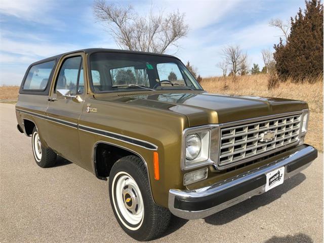 Picture of '76 Chevrolet Blazer - $24,900.00 - QOWU
