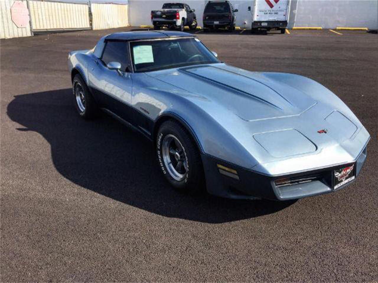 Large Picture of '82 Corvette - QOXM