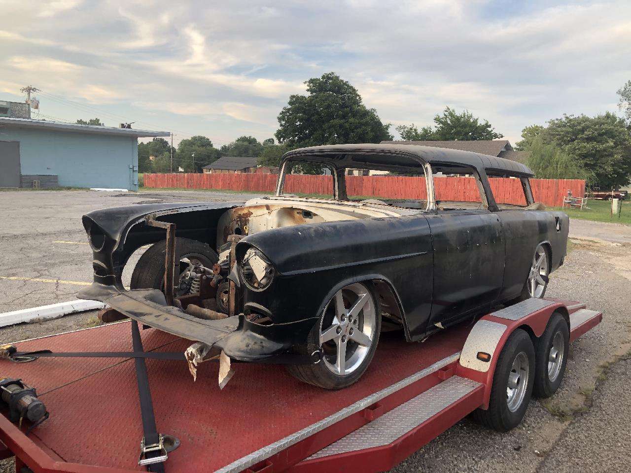 Large Picture of 1955 Chevrolet Nomad located in Wilson Oklahoma - $25,750.00 Offered by Red Line Auto Sports - QOYB