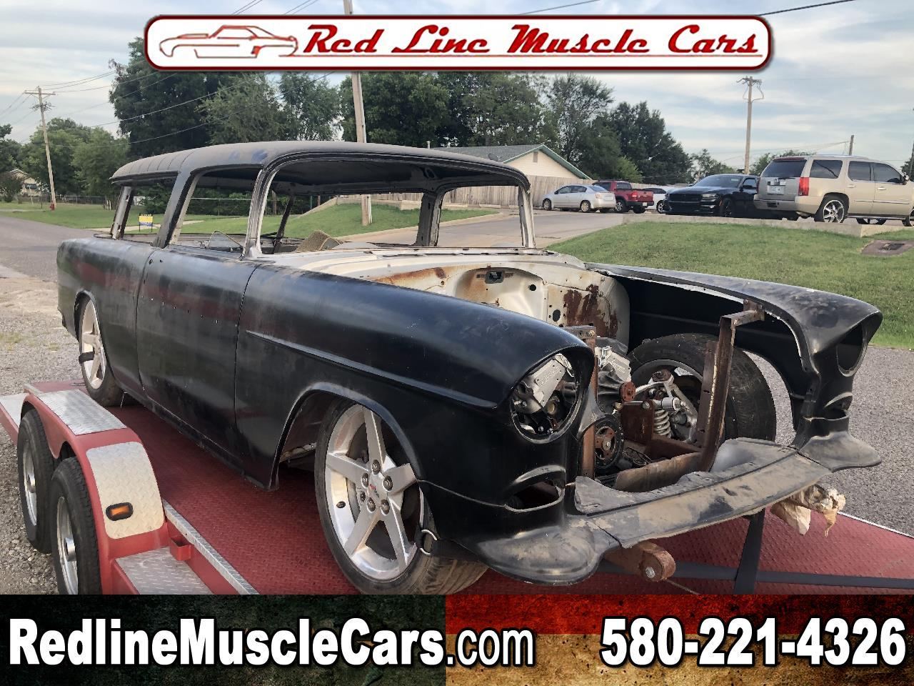 Large Picture of Classic '55 Chevrolet Nomad located in Wilson Oklahoma - $25,750.00 - QOYB