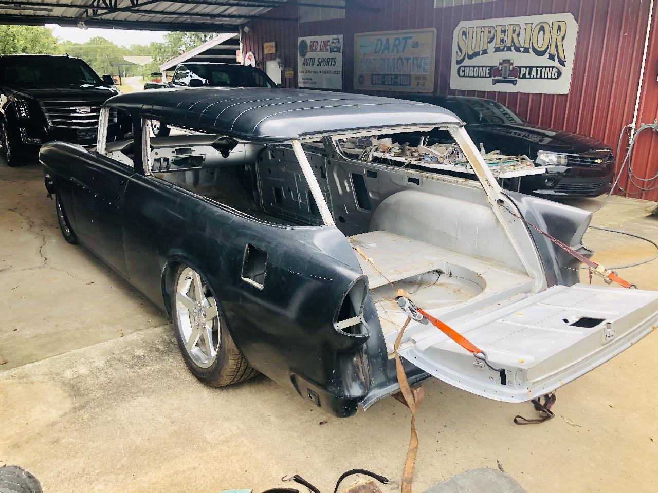 Large Picture of Classic 1955 Nomad located in Oklahoma - $25,750.00 Offered by Red Line Auto Sports - QOYB