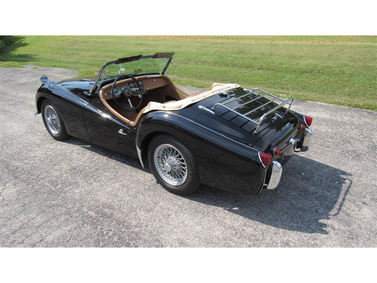 Large Picture of Classic 1959 TR3A located in Missouri Offered by Wilson Motor Company - QOZP