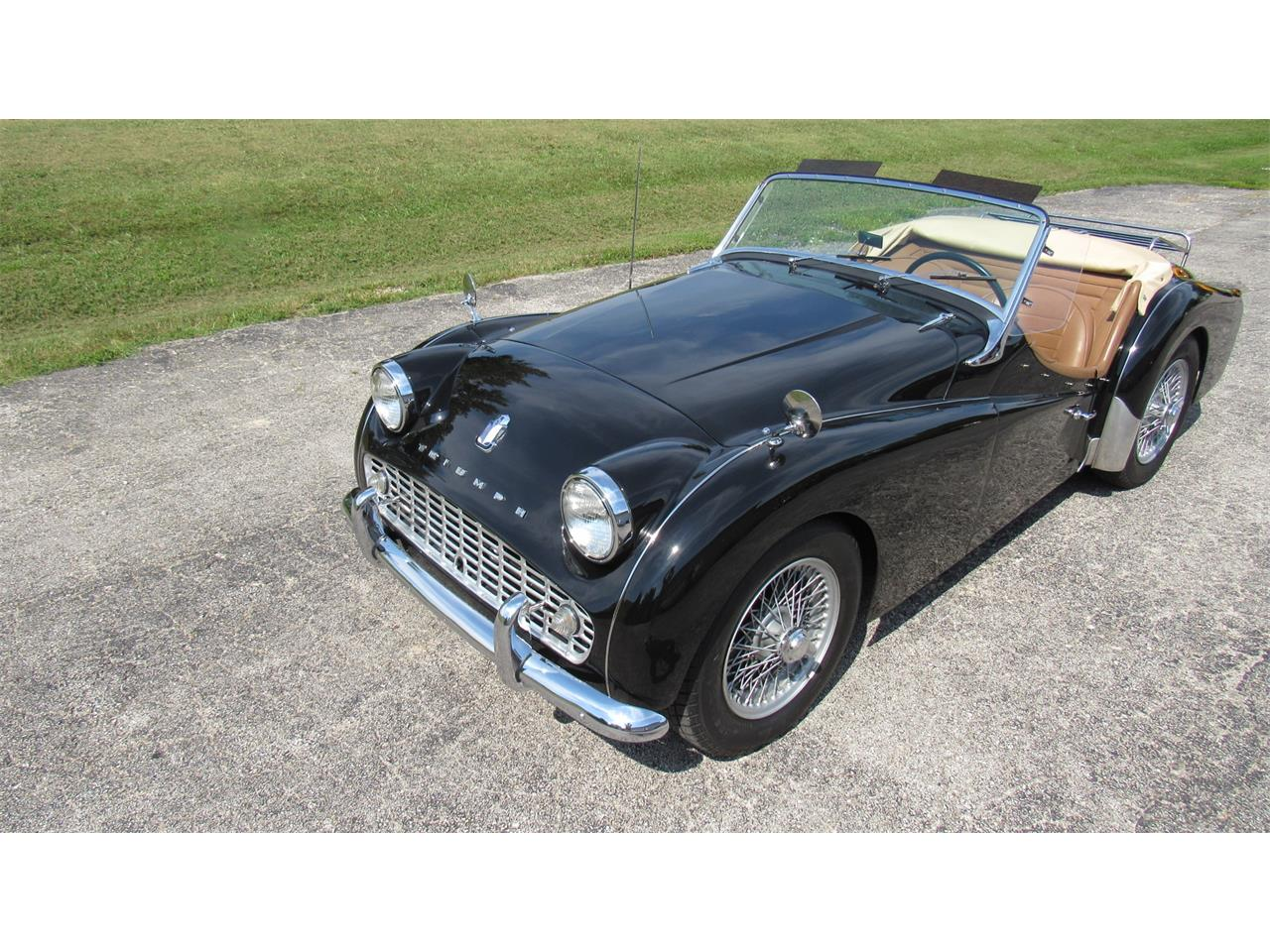 Large Picture of Classic 1959 Triumph TR3A located in WASHINGTON Missouri Offered by Wilson Motor Company - QOZP