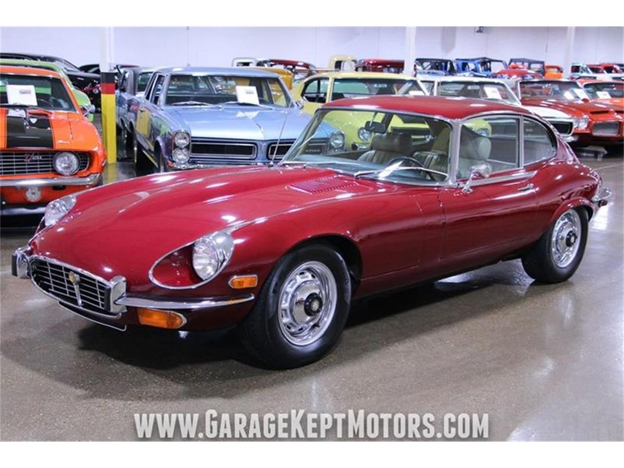 Large Picture of '71 E-Type located in Grand Rapids Michigan Offered by Garage Kept Motors - QP0V