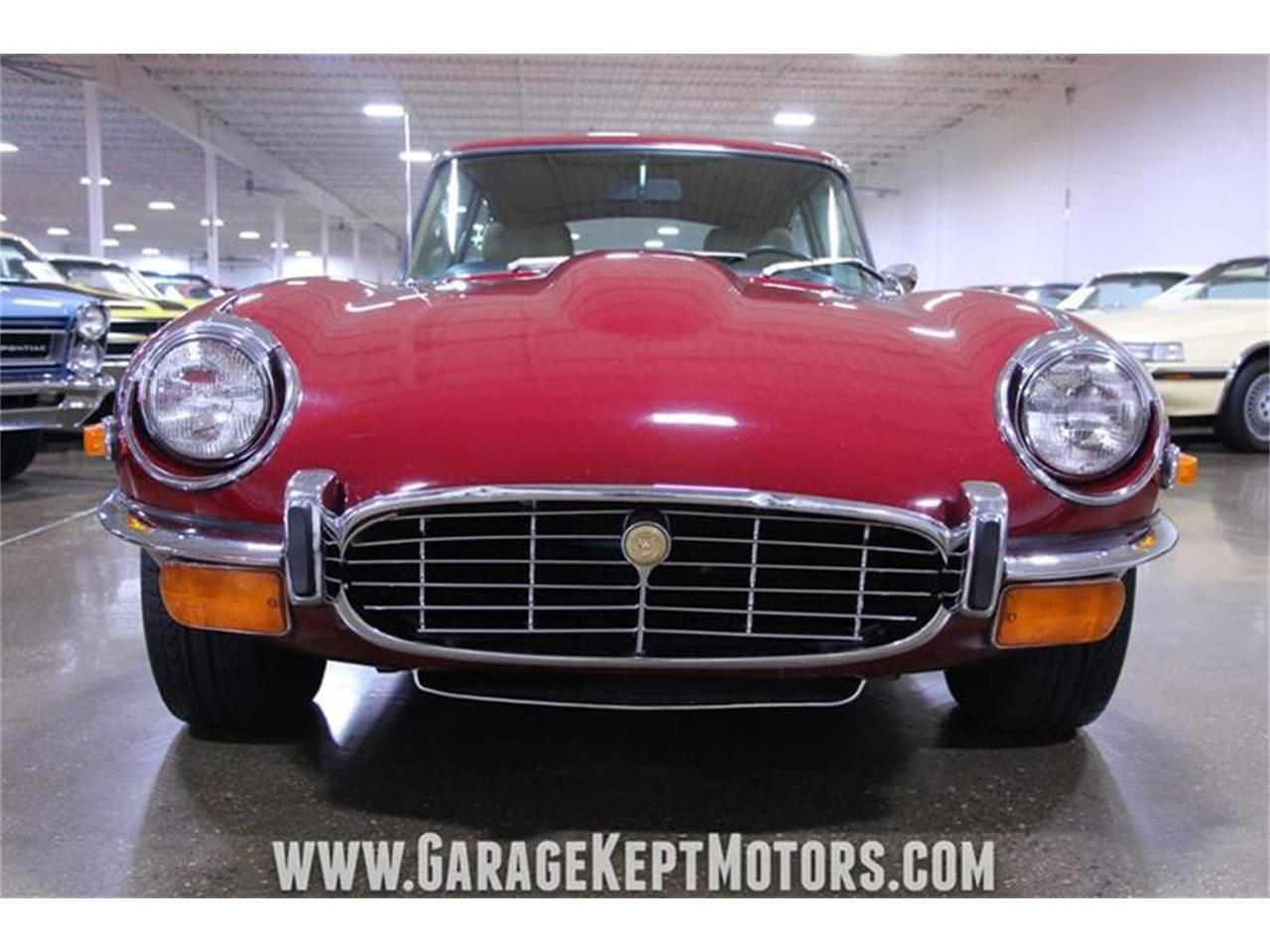 Large Picture of 1971 Jaguar E-Type located in Michigan Offered by Garage Kept Motors - QP0V