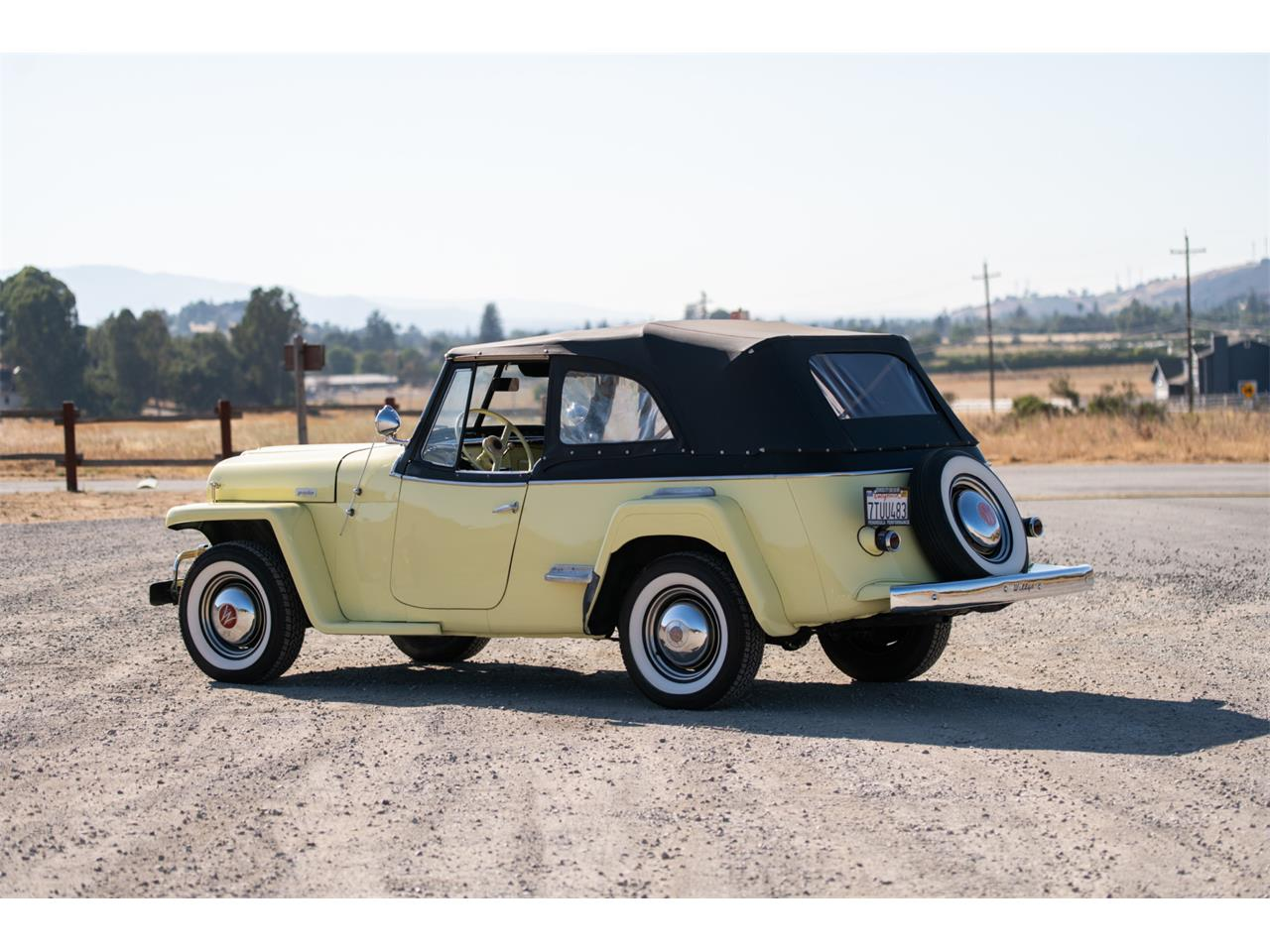 Large Picture of '49 Willys Jeepster located in California Offered by Bring A Trailer - QP2N