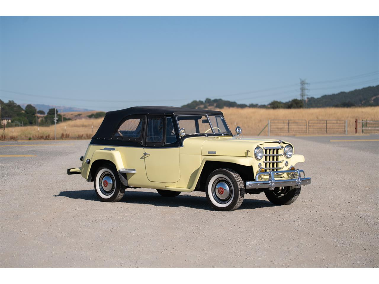 Large Picture of Classic 1949 Jeepster Auction Vehicle - QP2N