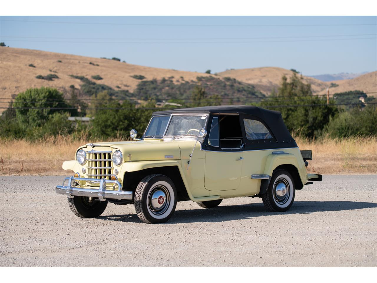 Large Picture of Classic '49 Willys Jeepster located in San Jose California Auction Vehicle - QP2N