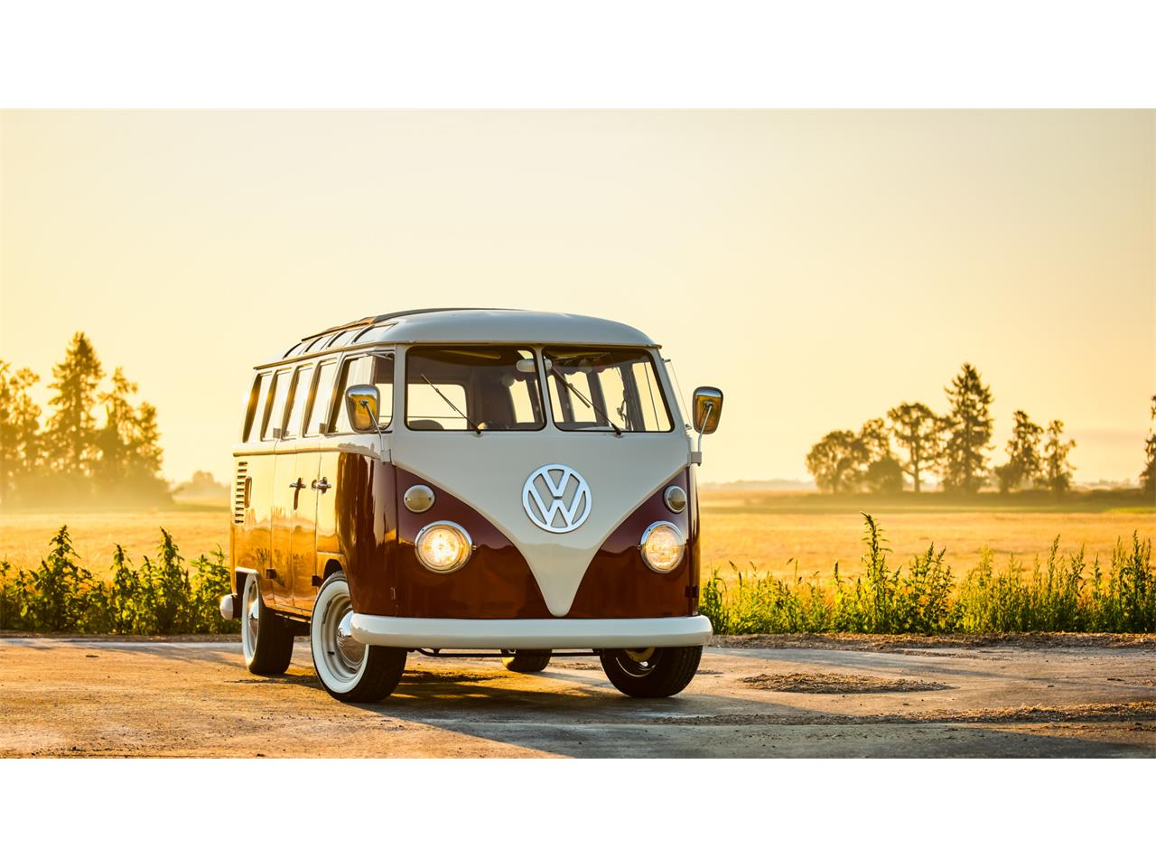 Large Picture of Classic '66 Volkswagen Bus Auction Vehicle - QP3E
