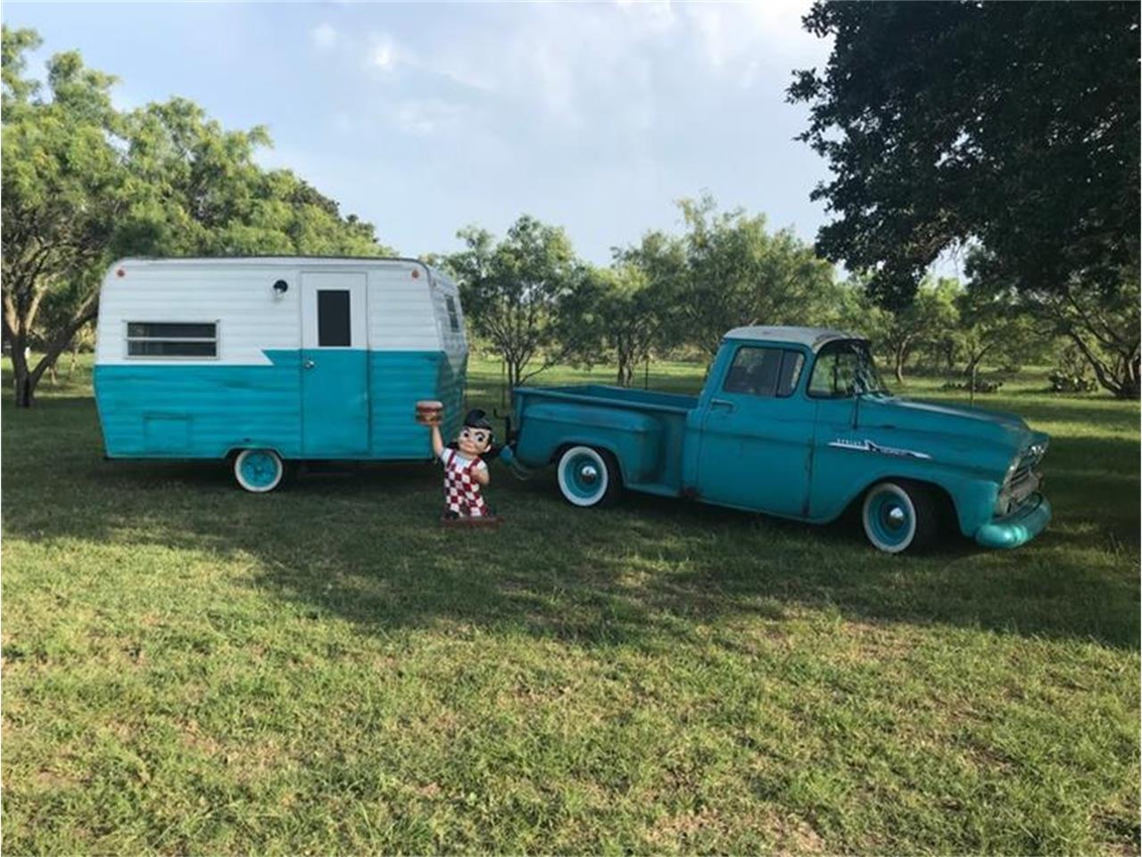 Large Picture of Classic '56 Chevrolet 3100 Offered by Street Dreams Texas - QP3Z