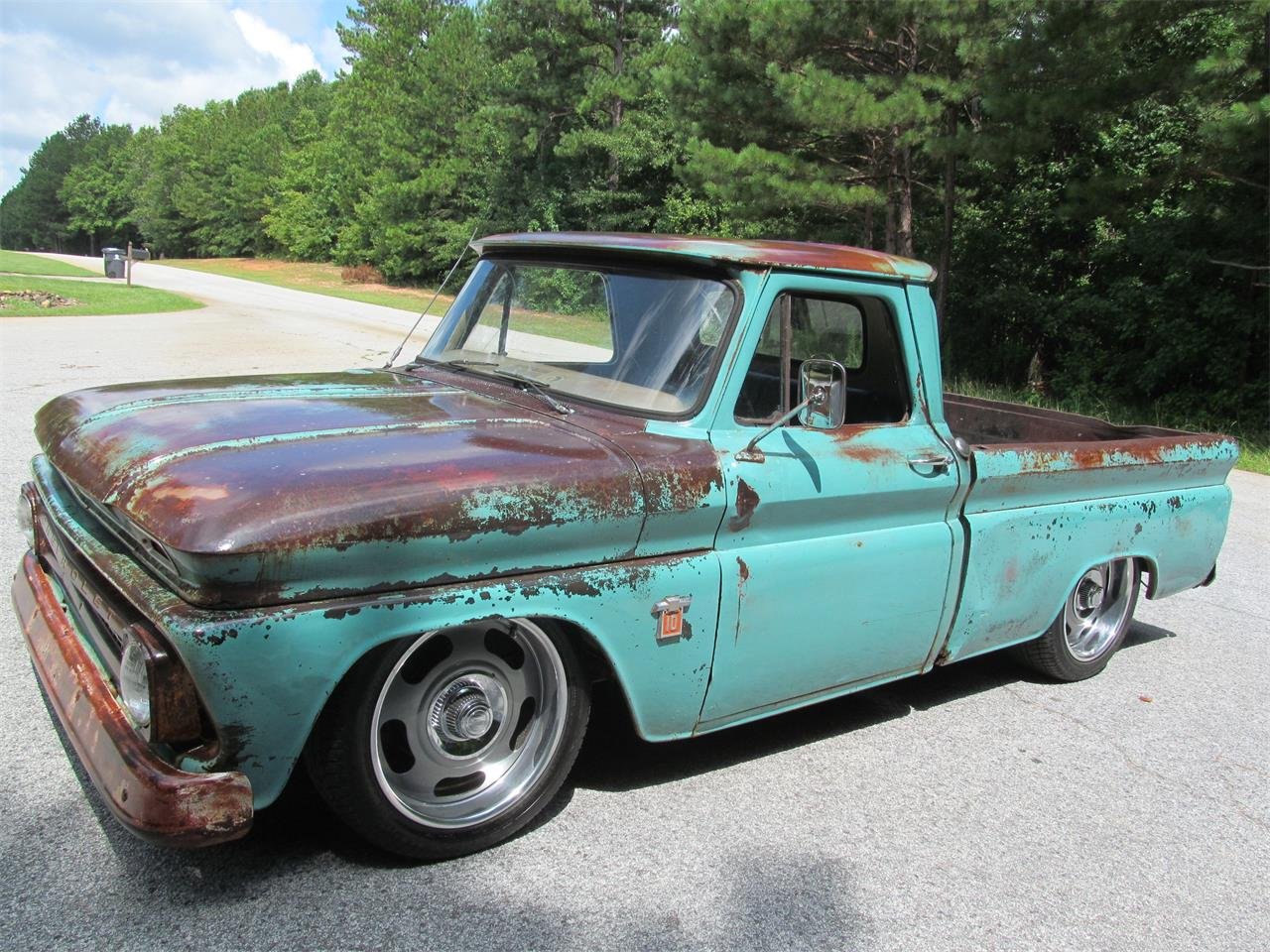 Large Picture of Classic 1964 Chevrolet C10 located in Fayetteville Georgia - $13,900.00 Offered by Peachtree Classic Cars - QPJY