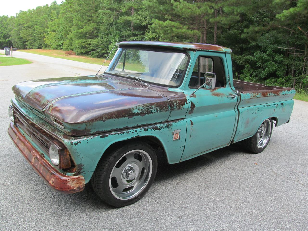 Large Picture of '64 Chevrolet C10 located in Fayetteville Georgia - $13,900.00 - QPJY