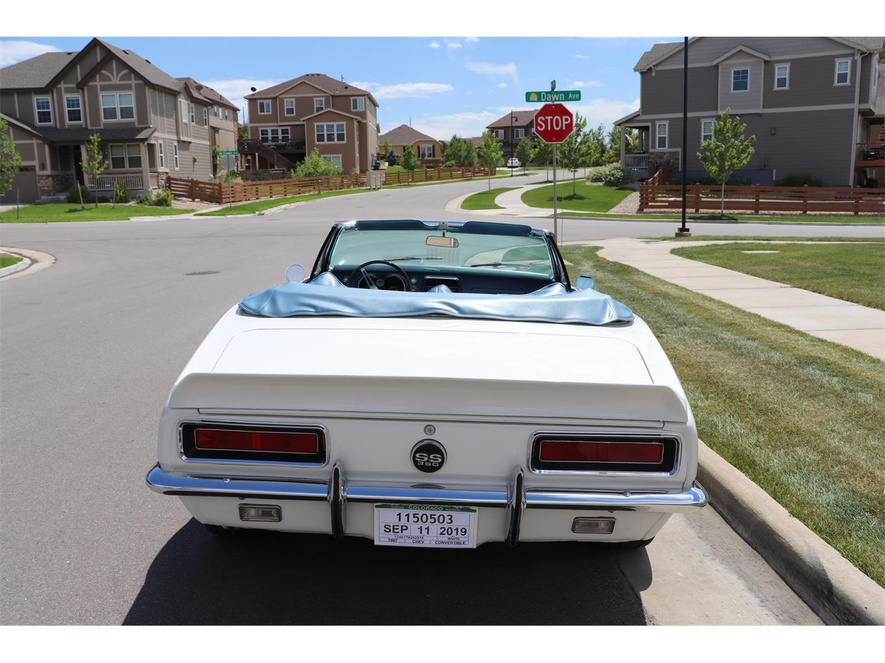 Large Picture of Classic '67 Camaro SS located in Colorado - $47,500.00 - QPKA
