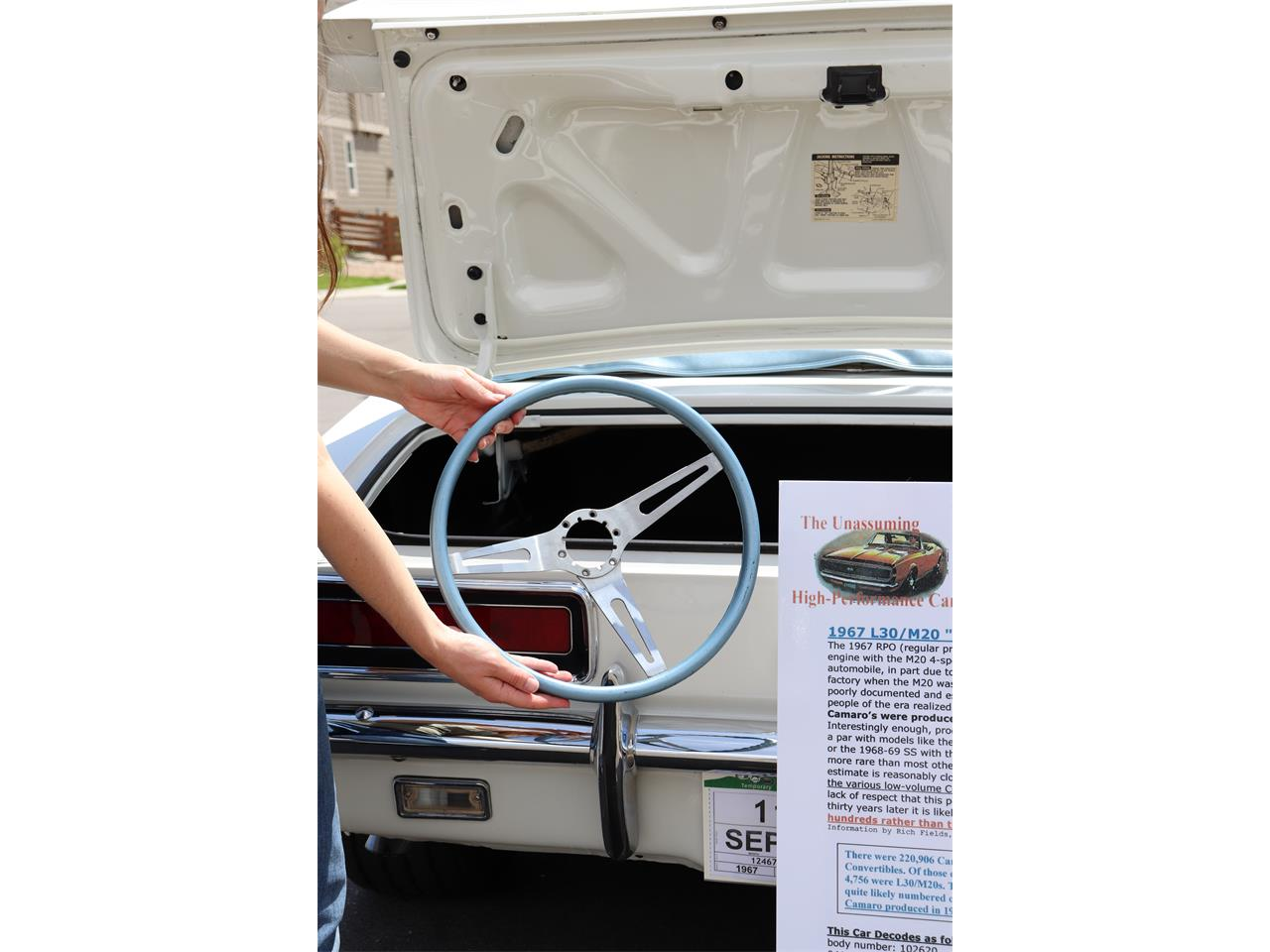 Large Picture of Classic '67 Camaro SS located in Erie Colorado - $47,500.00 Offered by a Private Seller - QPKA