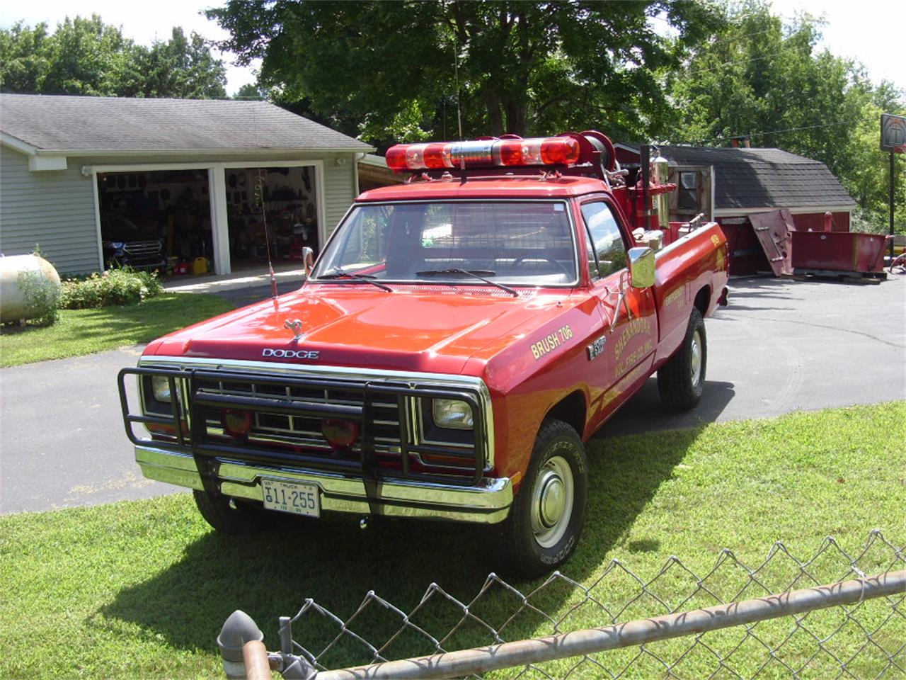 Large Picture of '85 Power Wagon - QPL0