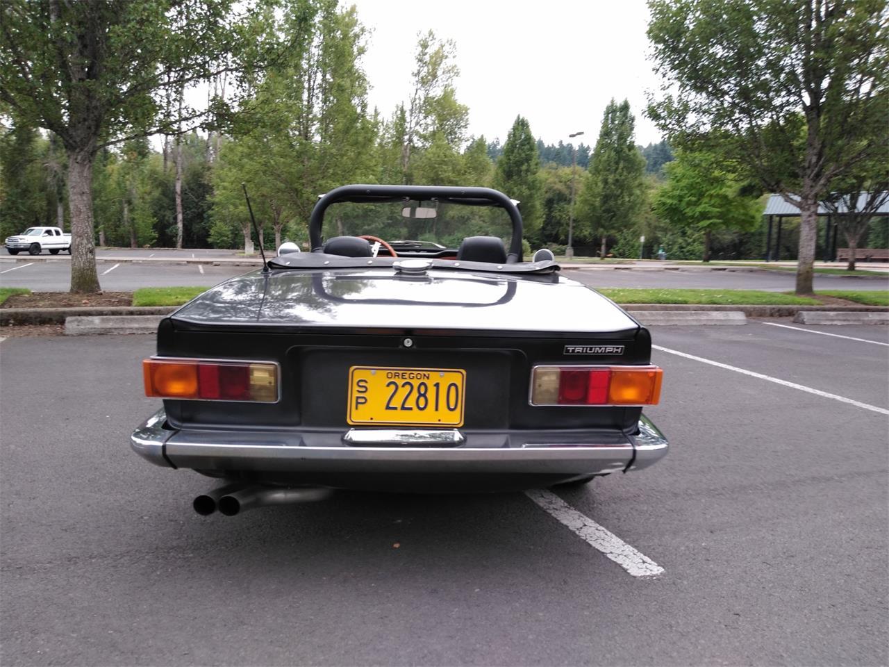 Large Picture of '70 TR6 - QPOU