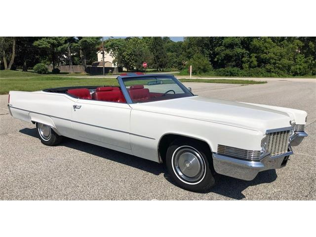 Picture of 1970 Cadillac DeVille located in Pennsylvania - QPQE