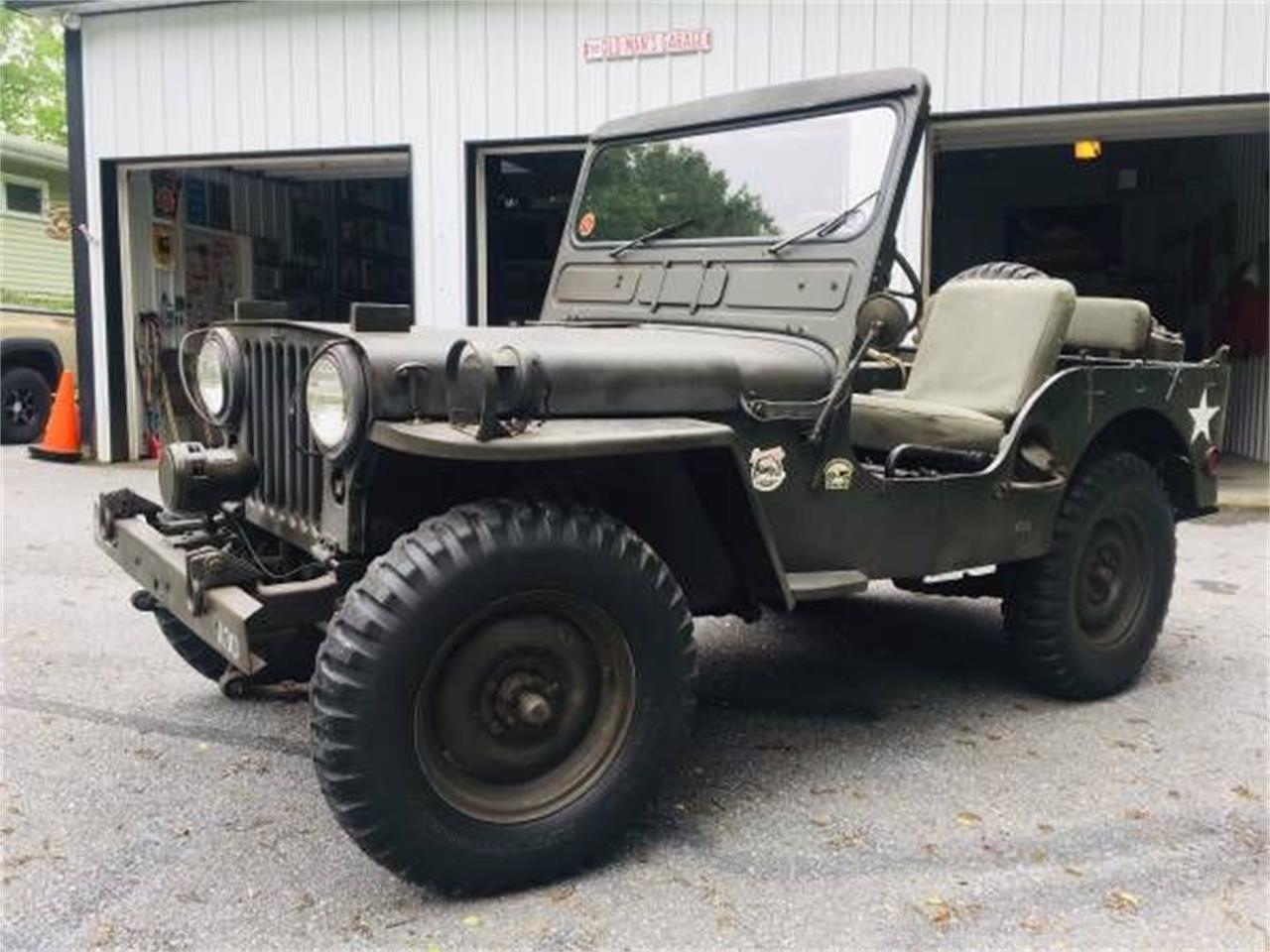 For Sale: 1951 Willys Jeep in Cadillac, Michigan