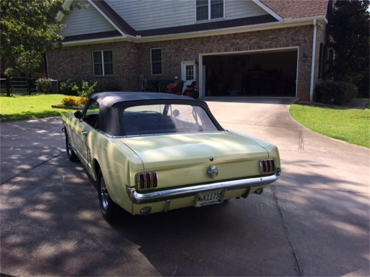 Large Picture of 1966 Ford Mustang located in South Carolina - $26,000.00 - QPS2