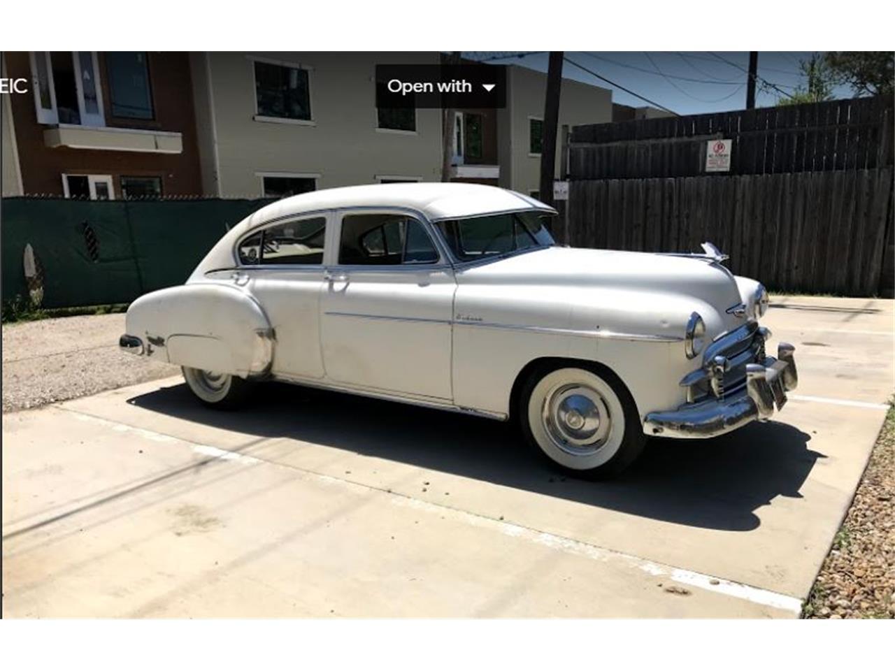 For Sale: 1950 Chevrolet Fleetline in Dallas, Texas