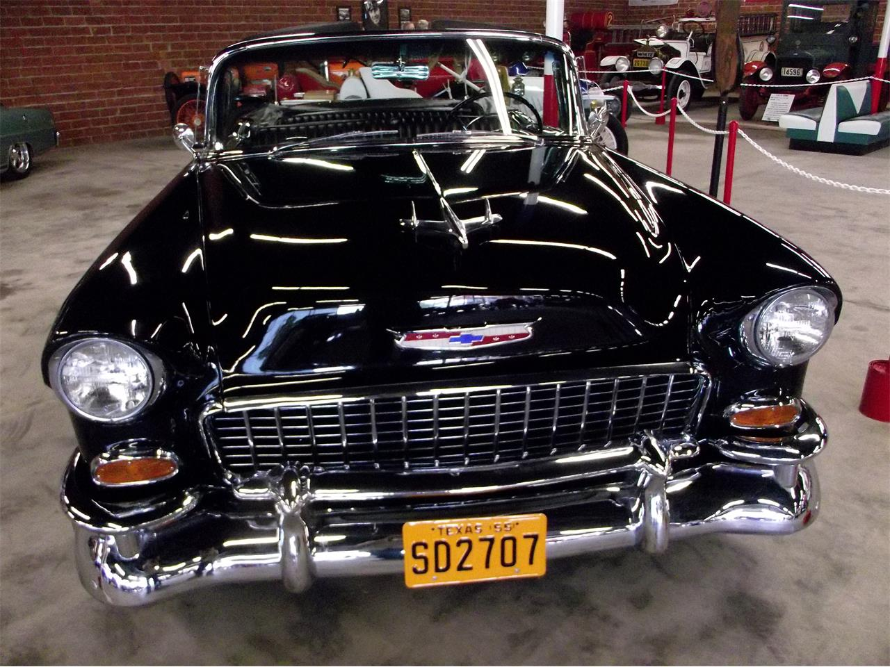 Large Picture of Classic '55 Chevrolet Bel Air located in wichita Falls Texas - $58,500.00 Offered by P's Crazy Car Museum - QPSU