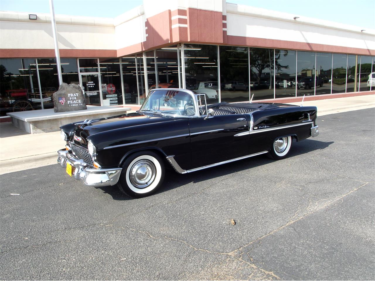Large Picture of '55 Bel Air - $58,500.00 Offered by P's Crazy Car Museum - QPSU
