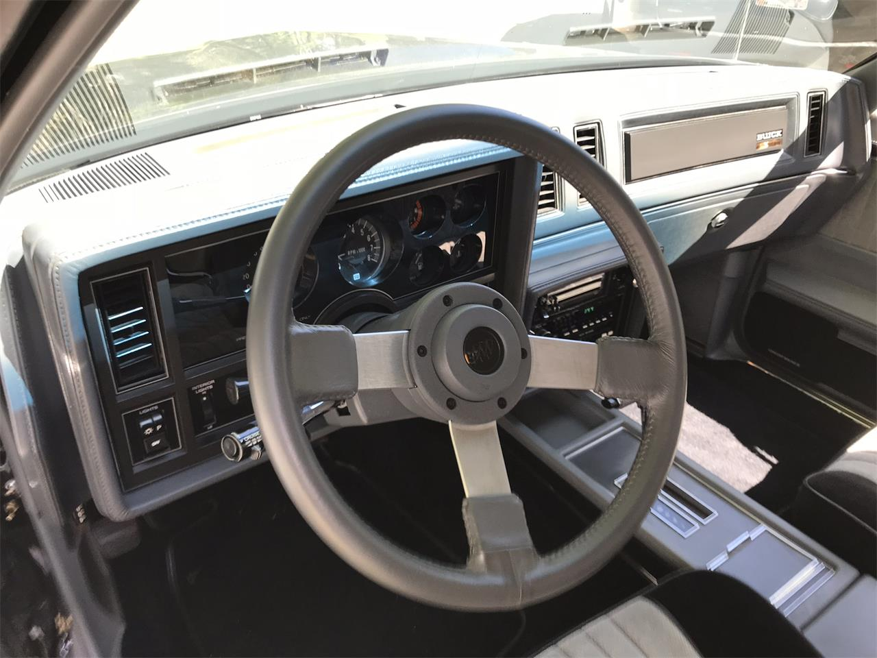 Large Picture of '87 GNX - QPSZ