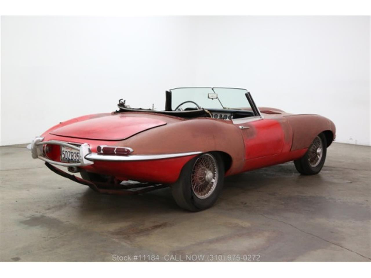 Large Picture of '62 Jaguar XKE located in California - QPUY