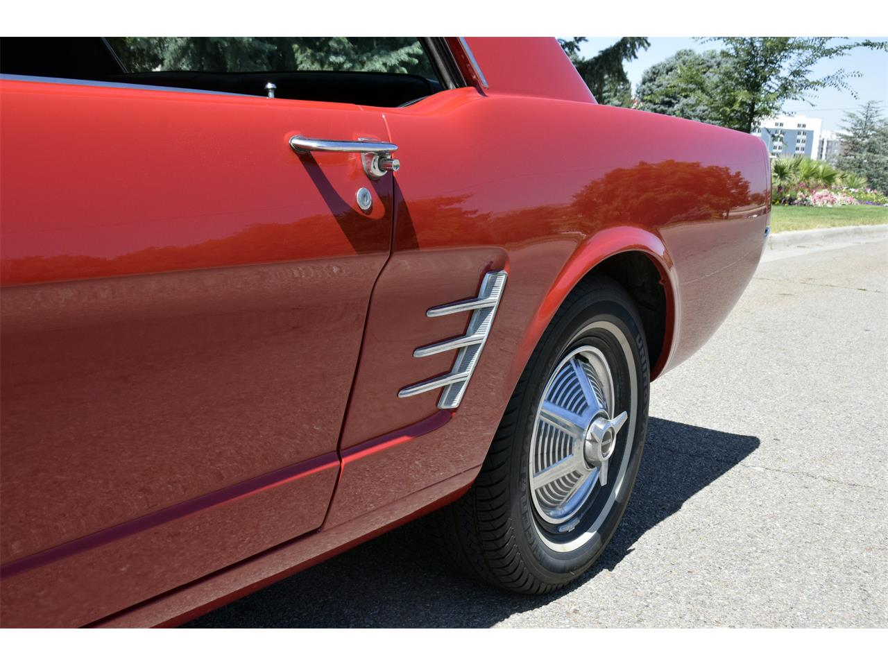 Large Picture of Classic '66 Mustang located in Salt Lake City Utah - $23,900.00 Offered by a Private Seller - QPZ1