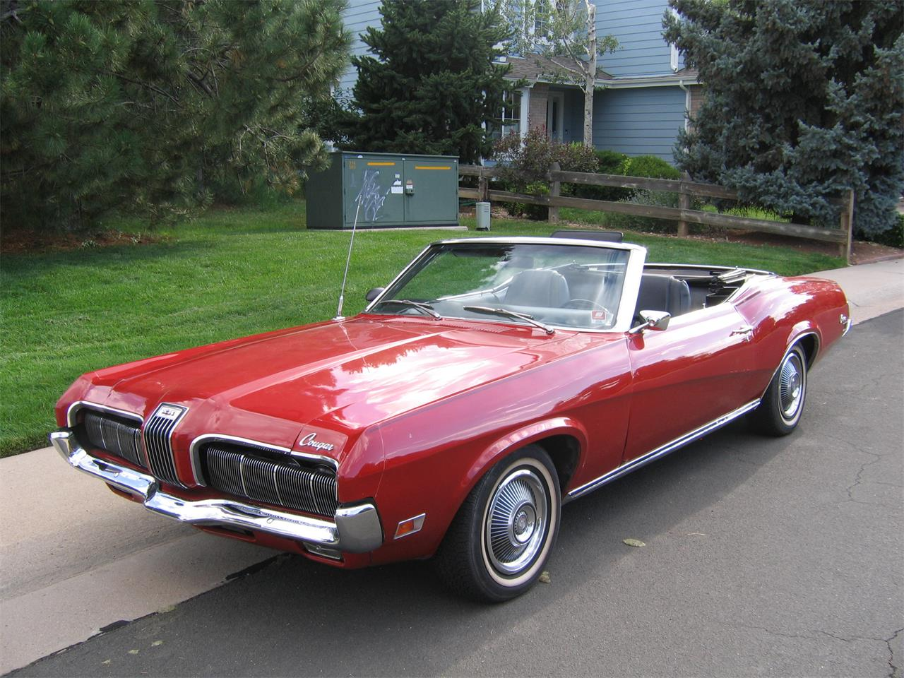 Large Picture of '70 Cougar XR7 - QQ1Z