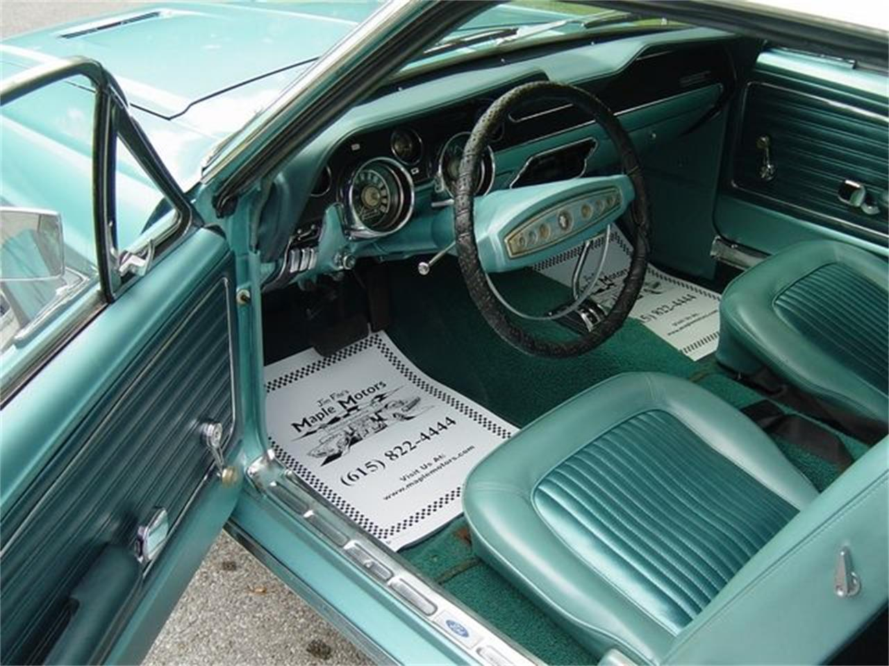 Large Picture of '68 Mustang - QQ8V