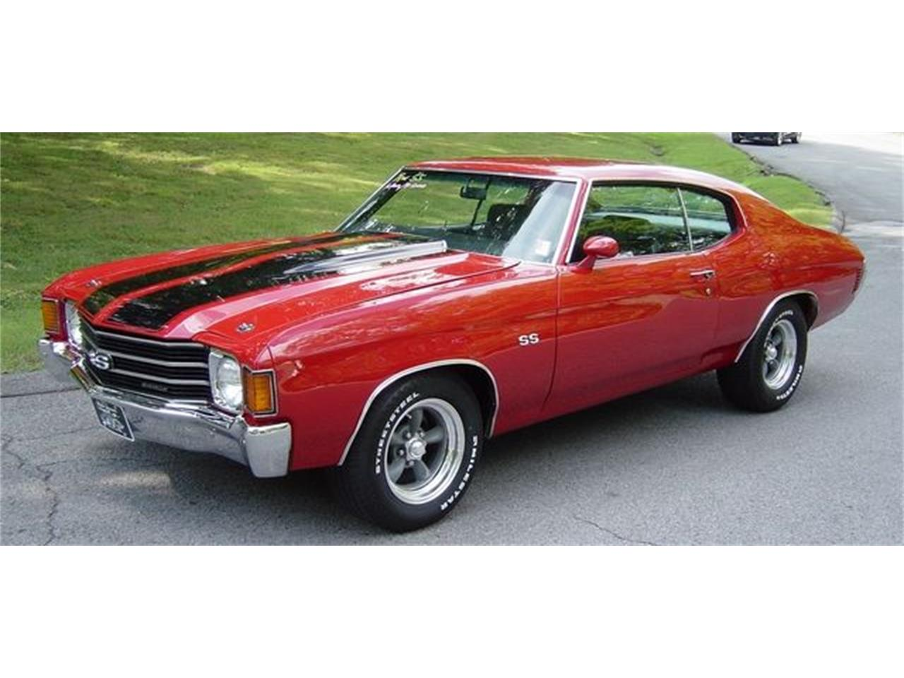Large Picture of Classic '72 Chevelle SS located in Hendersonville Tennessee - $34,900.00 - QQ8W