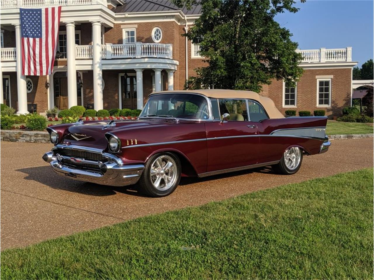 Large Picture of Classic '57 Chevrolet Bel Air located in North Carolina Offered by GAA Classic Cars Auctions - QQAY
