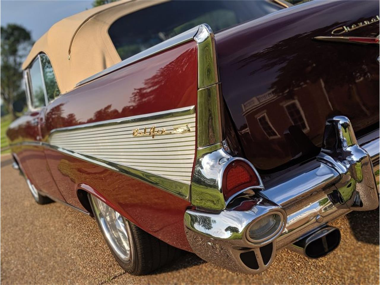 Large Picture of 1957 Bel Air Auction Vehicle Offered by GAA Classic Cars Auctions - QQAY