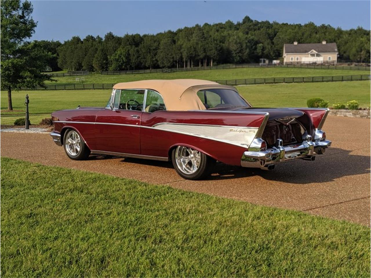 Large Picture of Classic 1957 Chevrolet Bel Air located in North Carolina Auction Vehicle - QQAY