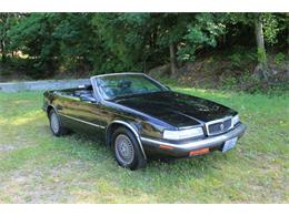 Picture of 1990 Chrysler TC by Maserati Auction Vehicle Offered by Lucky Collector Car Auctions - QQBD